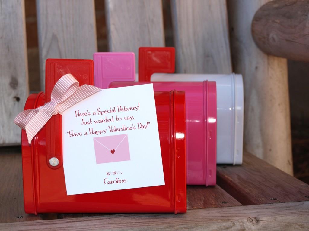 Valentine's Day Mailbox Favors