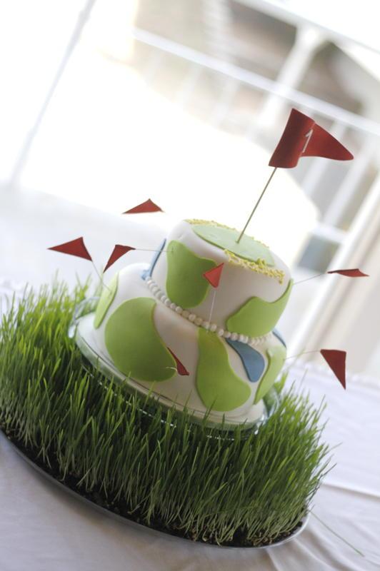 Hole Cake Hole-in-one Cake