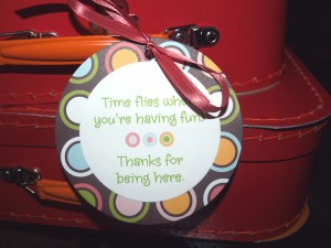 favor outside message closeup