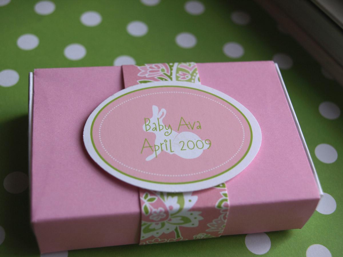 Spotlight on Custom: Baby Shower | Pink Peppermint, the blog