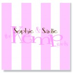 Siblint Stripe Gift Enclosure by Pink Peppermint Paper
