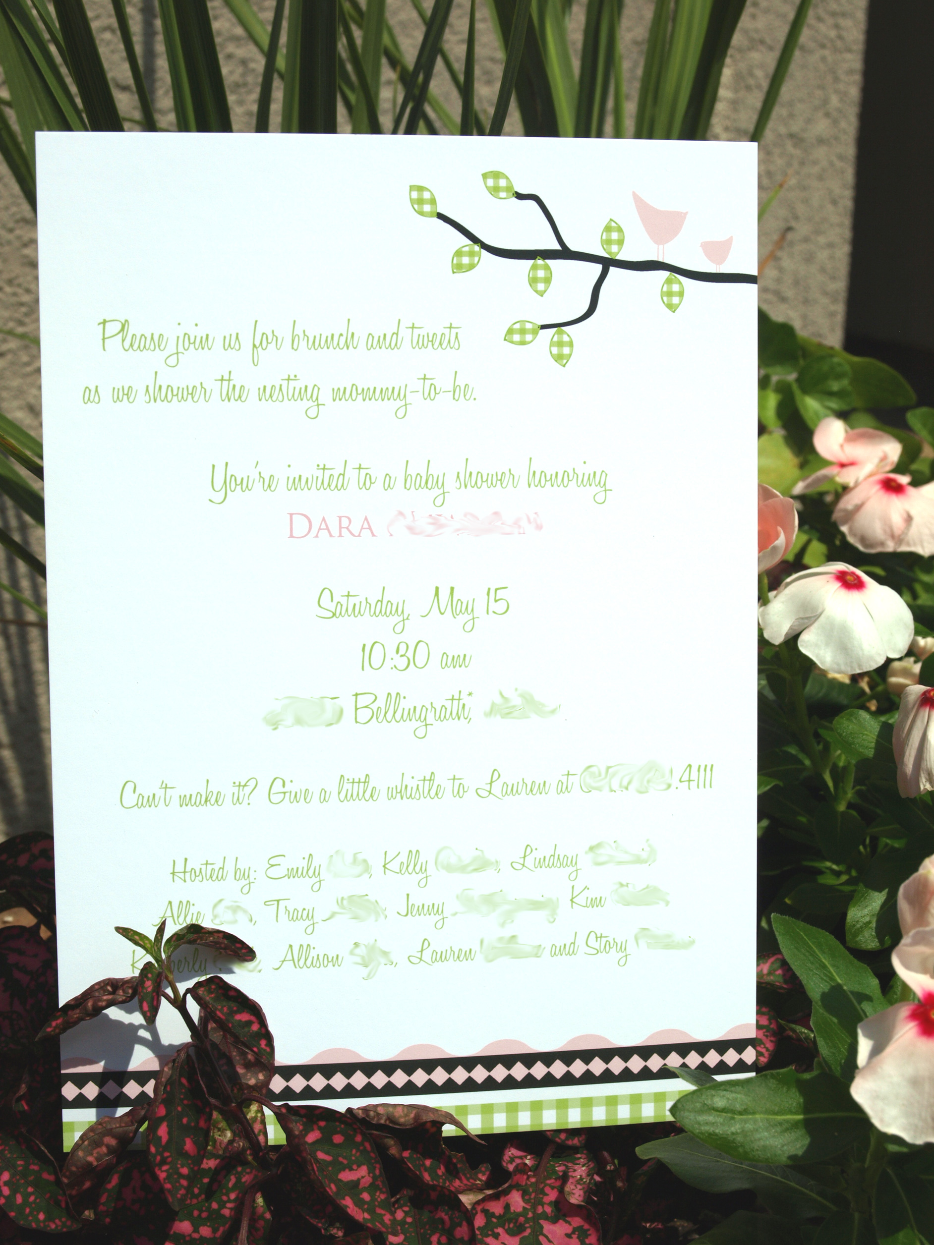 This Baby Shower Is For The Birds | Pink Peppermint, the blog