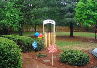 Backyard Birthday Carnival