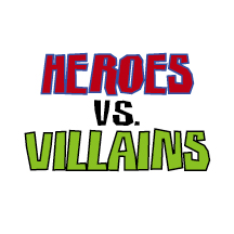 Superhero Vs Villain