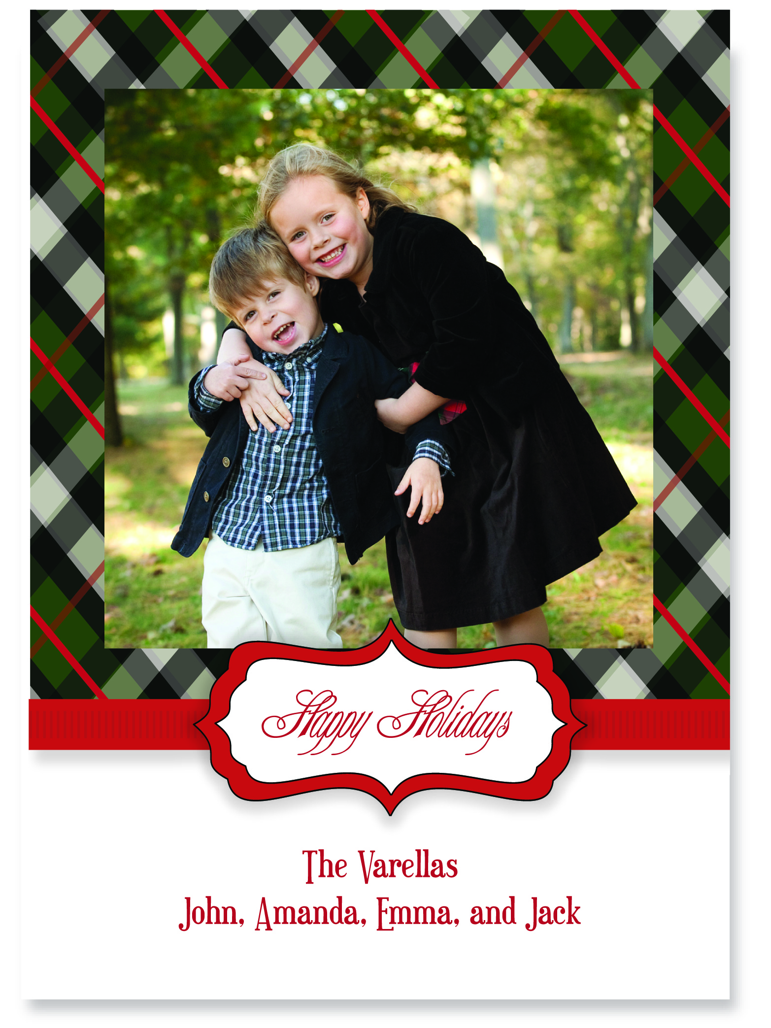 Custom Christmas Cards Pink Peppermint The Blog