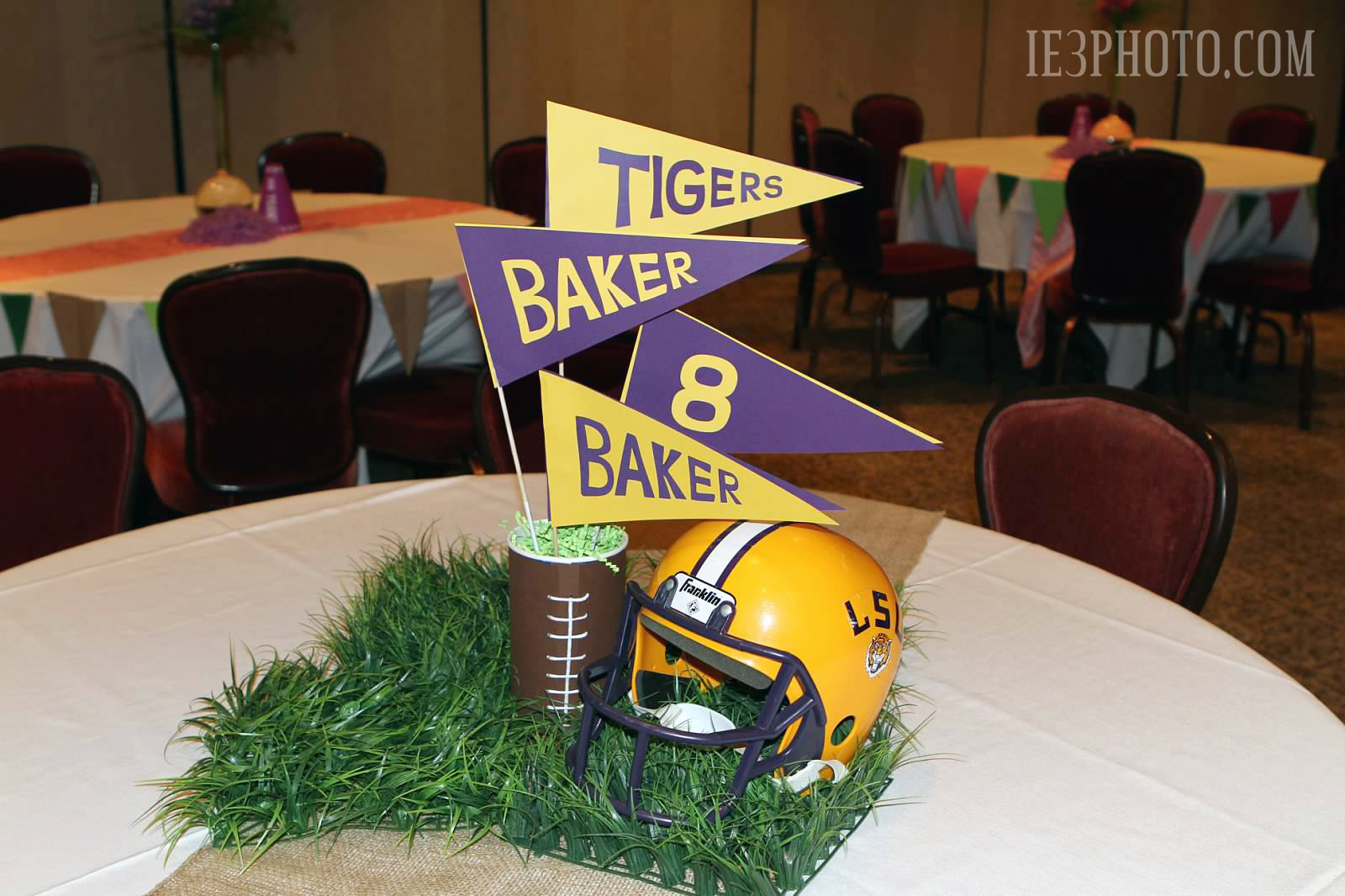 Lsu Table Decorations