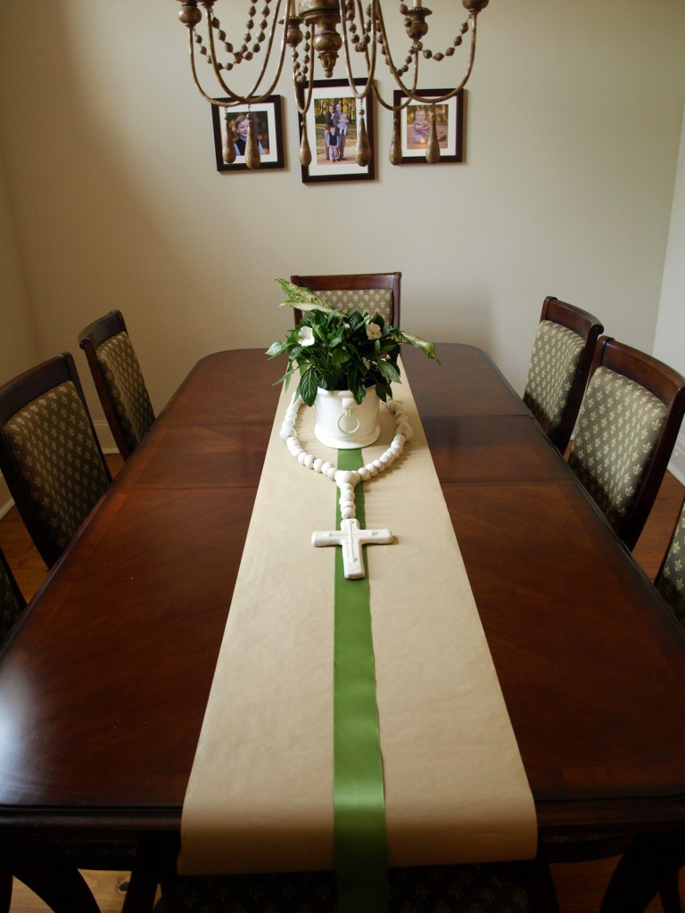 First Communion Dining Table