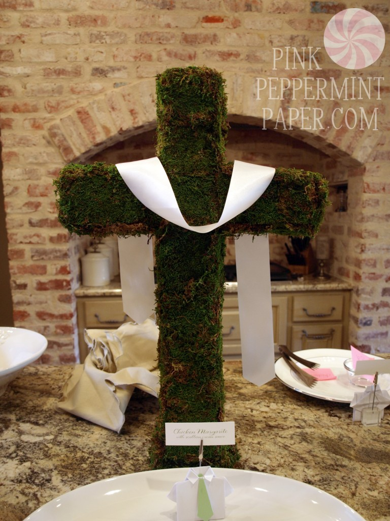 Moss Cross Centerpiece