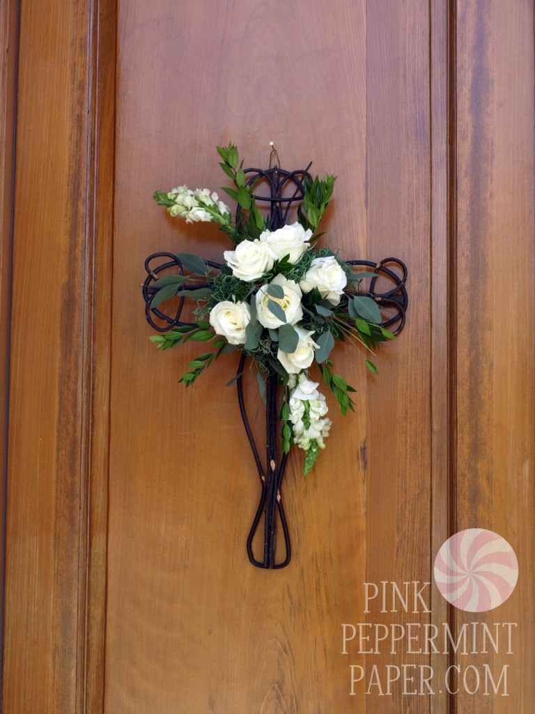 First Communion Decorations for the entry