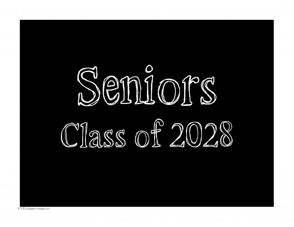 Seniors Class of 2028
