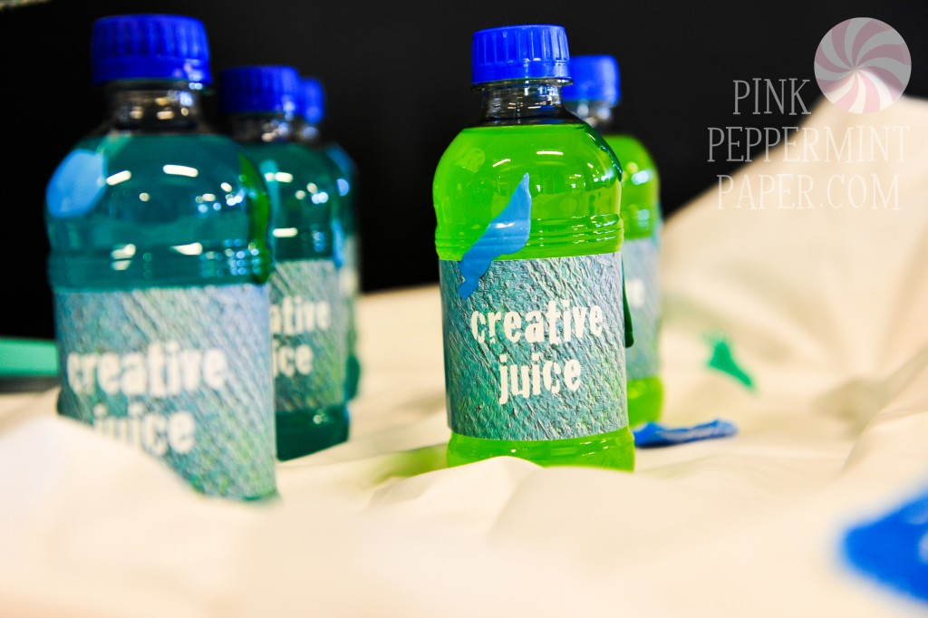 Creative Juice Labels from PinkPeppermintPaper.com